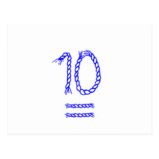 Table Number Cards - Sailors Knot Post Card