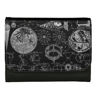 Table of Astronomy Women's Wallets