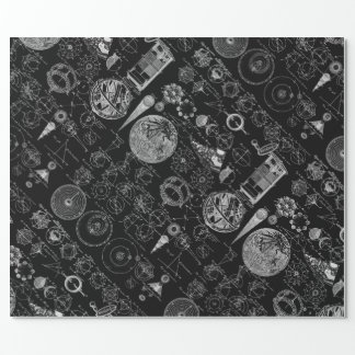 Table of Astronomy Wrapping Paper