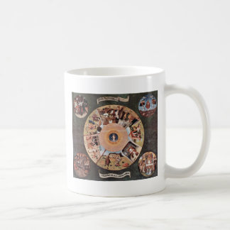 Table Of The Mortal Sins.,  By Hieronymus Bosch (B Coffee Mug