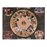 Table Of The Mortal Sins.,  By Hieronymus Bosch (B Postcards