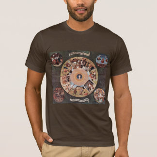 Table Of The Mortal Sins.,  By Hieronymus Bosch (B T-Shirt