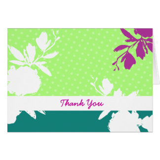 Table Pour Deux Thank You Card