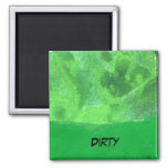 """""""Table Rock #2"""" Abstract Dishwasher Magnet"""