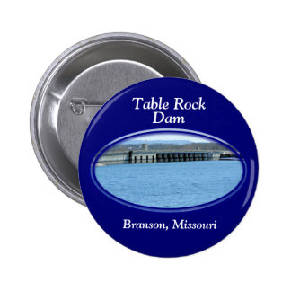 Table Rock Lake round pin- customise 6 Cm Round Badge