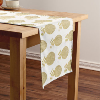 Table runner of 35.5 cm X 183 cm Pineapple