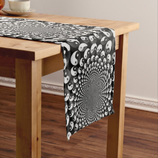 Table runner of 35.5 cm X 183 cm Yin Yang