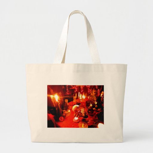 Table Setting Canvas Bags
