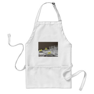 Table setting for Christmas or other event Standard Apron