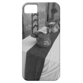 Table settings for a medieval style banquet iPhone 5 case