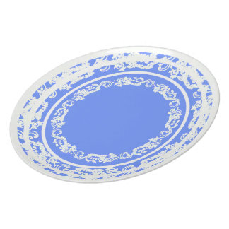 Table-Statements (c)REVIS-Periwinkle_Lace_Everyday Plate