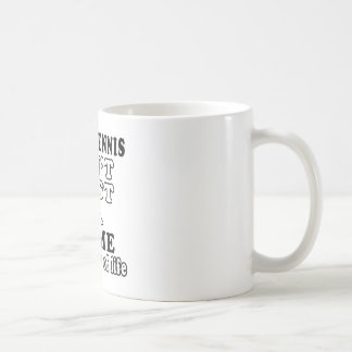 table tennis Ain't Just A Game It's A Way Of Life Basic White Mug
