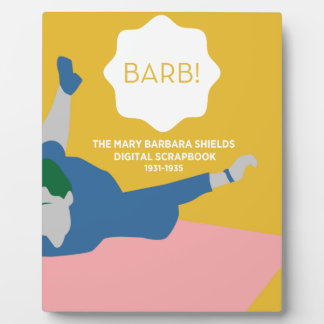 Table Tennis Barb Plaque
