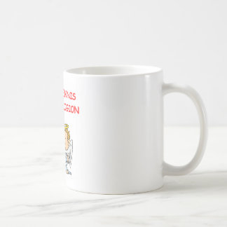 table tennis basic white mug