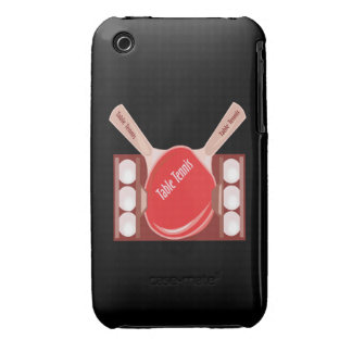 Table Tennis Case-Mate iPhone 3 Cases