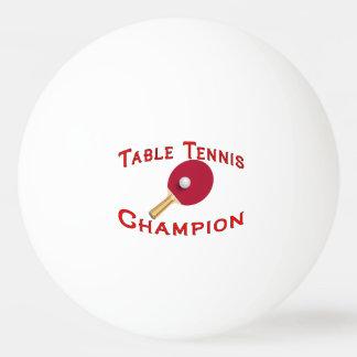 Table Tennis Champion Ping Pong Ball