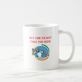 table tennis coffee mug