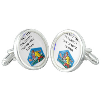table tennis cuff links