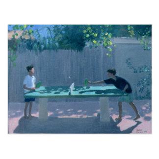 Table Tennis France 1996 Postcard