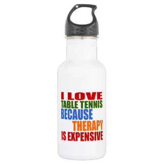Table Tennis Is My Therapy 532 Ml Water Bottle
