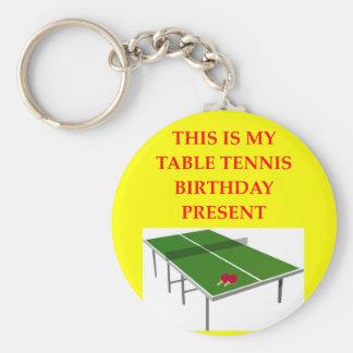 table tennis key ring