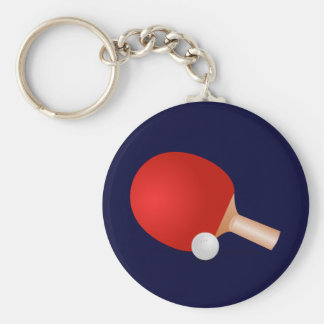 Table Tennis Key Ring