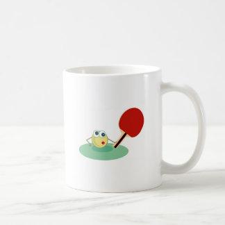 Table Tennis Classic White Coffee Mug