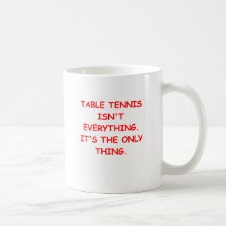 table tennis mug
