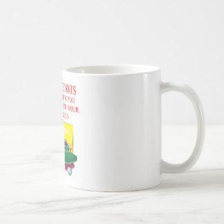 table tennis basic white mug
