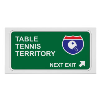 Table Tennis Next Exit Poster