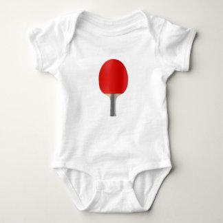 Table tennis racket baby bodysuit