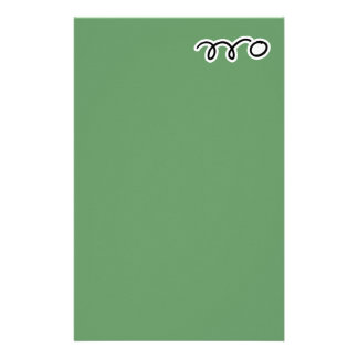 Table tennis stationery paper for writing letters