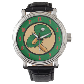 Table Tennis Wrist Watch