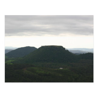 Table Top Mountain Toowoomba Postcard