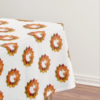 """Tablecloth """"60x84"""" Autumn Wreath"""