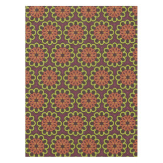 Tablecloth Jimette Design brown orange and yellow