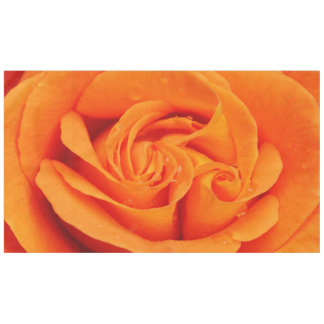 Tablecloth spring Orange rose abstract flower