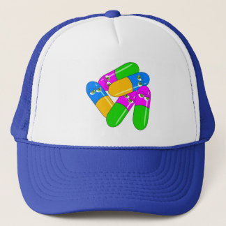 Tablet Capsules Trucker Hat