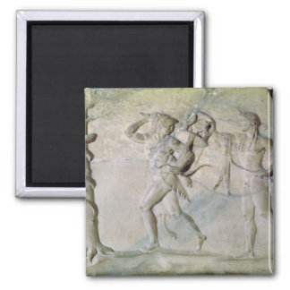 Tablet depicting Hercules Magnet