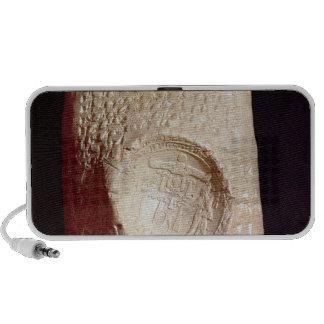 Tablet with cuneiform inscription speaker system