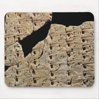 Tablet with cuneiform script, from Uruk Mouse Pad