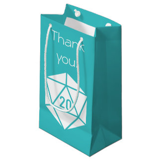 Tabletop Chic in Turquoise Gift Bag
