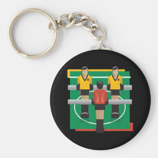 Tabletop Soccer Key Ring