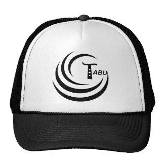 Tabu T Logo Large Black color Mesh Hat