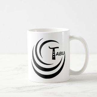 Tabu T Logo Large Black color Coffee Mug