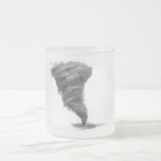 TAC frosted glass mug