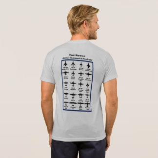 Tac Recce #3 -- historic aircraft on back (v2) T-Shirt