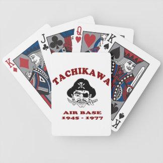 Tachikawa Air Base Japan playing cards