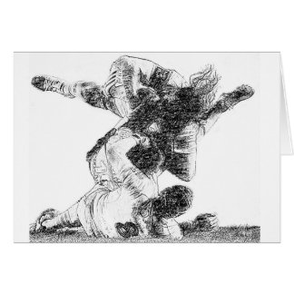 Tackle Time - Rugby Greeting Card