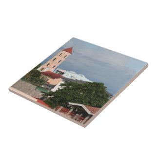 Tacloban City Small Square Tile
